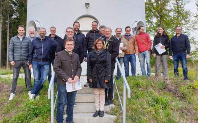 Marktgemeinderäte besuchen Windpark